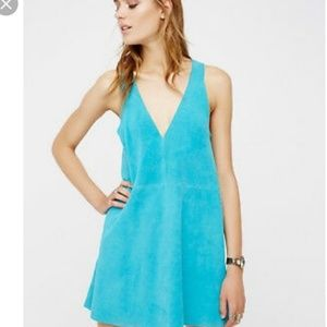 Free People Dresses - Free People Retro Love Suede Dress